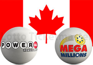 Canadians can buy Powerball and Mega Millions Online with Lotto Ticketmaster