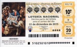 Christmas Lottery Tickets – Spain's El Gordo de Navidad